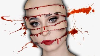 Sliced Face SFX | Maquillage et Costume HALLOWEEN