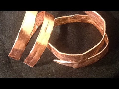 How To Create a Hammered Knitting Needle Bracelet - DIY Style Tutorial - Guidecentral