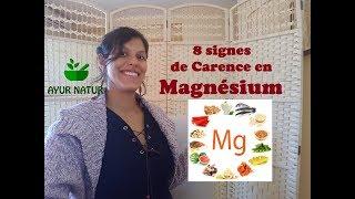 8 signes que vous manquez de magnésium !