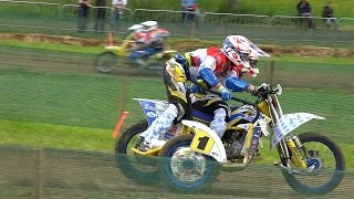 Sidecar Motocross World Championship. Qualifying Race Sidecars
