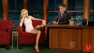 Leslie Bibb Discussing Orgies on Craig Ferguson