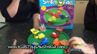 Kids Toys Australia   Frog Snatch Food Game