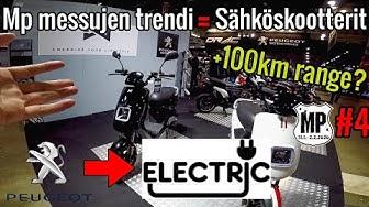 Mp messujen trendi, sähköskootterit!? Peugeot e-Ludix [Mp messut 2020 #4]