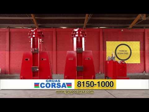 Comercial Gruas Corsa Grúa Gantry 300 ton