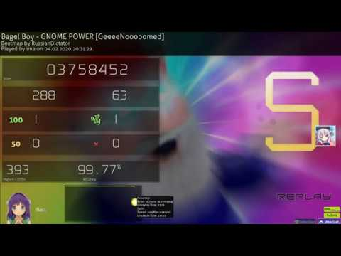 Bagel Boy - Gnome Power  7.4* 1x100 500pp if ranked