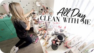 All Day Clean with Me - Cleaning Motivation!