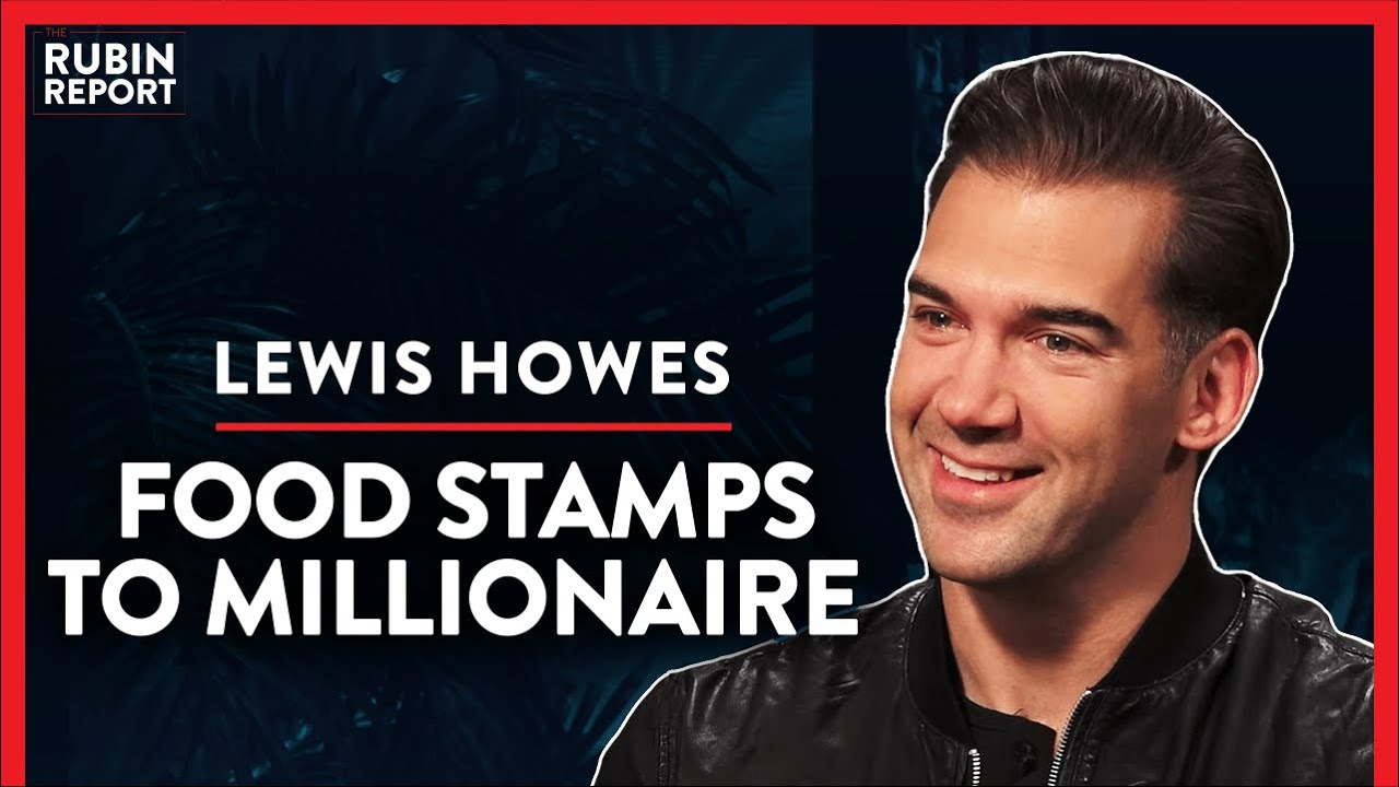 I Pulled Myself Out Of Poverty When Handouts Stopped (Pt. 1)| Lewis Howes | LIFESTYLE | Rubin Report