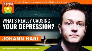 🌟JOHANN HARI: The Real Cause of Your Stress, Anxiety or Depression & the Surprising Solutions!