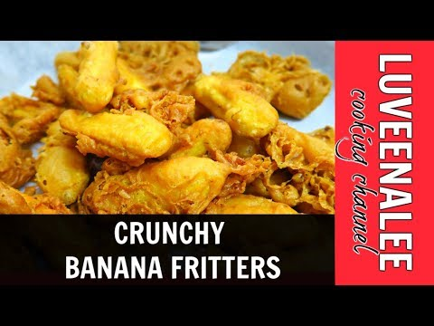 The Secret To Crunchy Banana Fritters Cara Membuat Goreng Pisang Rangup Crispy Banana Fritters Pisang Goreng Rangup Luveena Lee