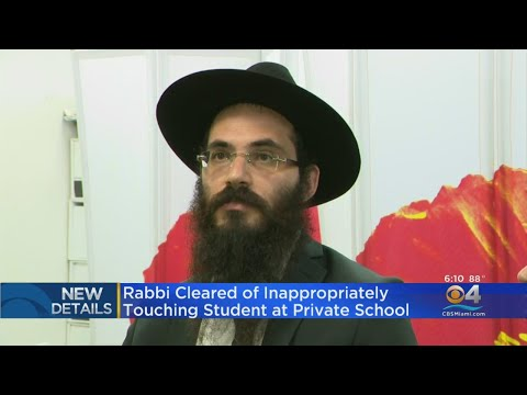Rabbi Yosef Benita Cleared Of Inappropriately Touching Student At Private School