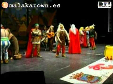 LOS DE LA POCIMA murga Semifinales Carnaval Málaga 2005
