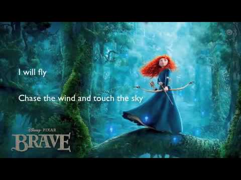 Touch the Sky - Brave Karaoke with lyrics
