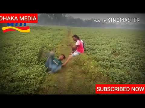 হাসতে হাসতে পেট ব্যাথা হয়ে জাবে || Funny  video bangla |Dhaka Media