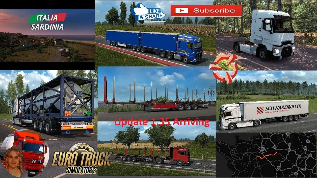 euro truck simulator 2 scs software news next update. Black Bedroom Furniture Sets. Home Design Ideas