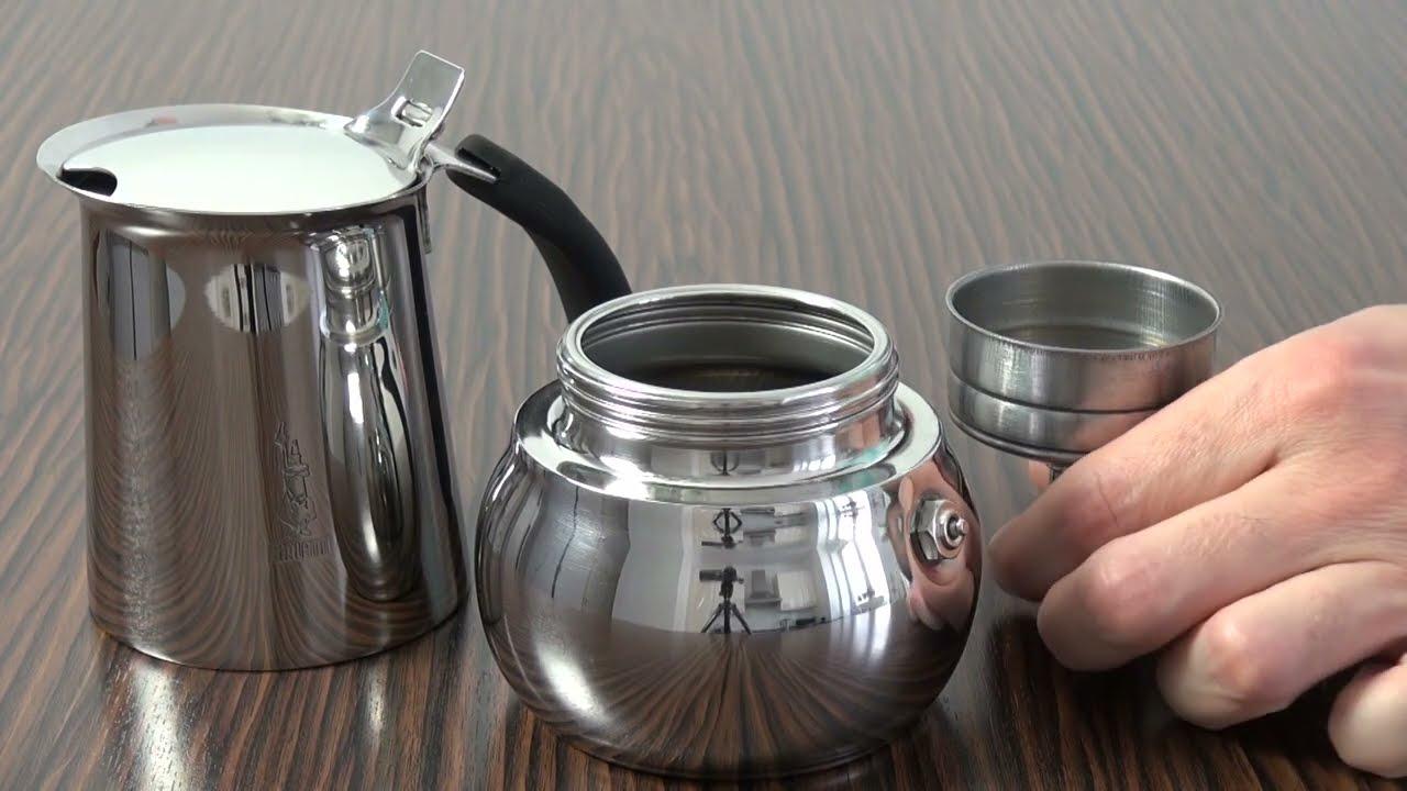 how to make espresso with espresso machine bialetti kitty. Black Bedroom Furniture Sets. Home Design Ideas