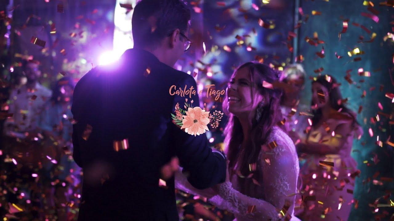 Quando no castelo dos Sonhos se celebra a construção do Amor. Filme de Casamento de Carlota e Tiago.