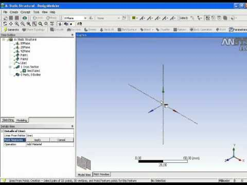 Ansys Workbench Beam Analysis