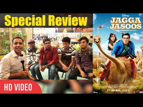 jagga jasoos movie special review college student review on jagga jasoos movie special review college student review on jagga jasoos ranbir kapoor katrina