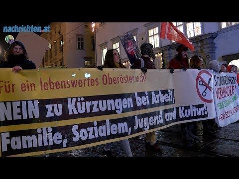 Protest gegen Kürzungen
