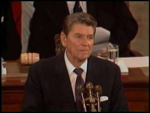 President Reagan's Address to Congress on the Geneva Summit at the US Capitol, November 21, 1985