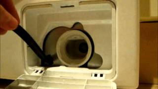 Front Load Washer Wont Drain Or Spin Clean Filter And