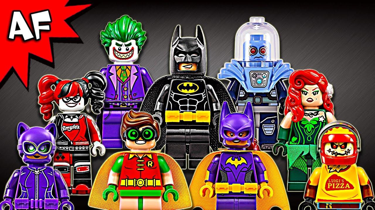 Lego Batman Movie Minifigures 2016 Complete Collection ...