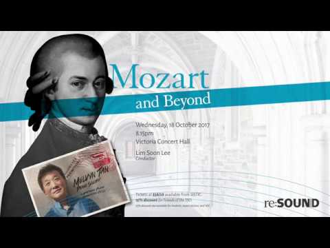 "re:sound with pianist Melvyn Tan ""Mozart and Beyond"""