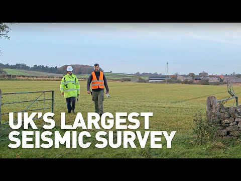 INEOS undertakes the UK's largest seismic survey