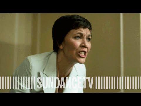 THE HONORABLE WOMAN Maggie Gyllenhaal  'Nessa Confronts Ambassador'   Golden Globe® Winner