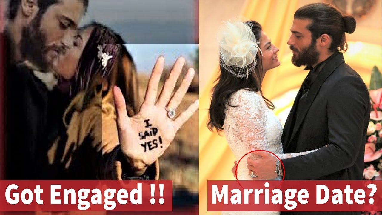 Finally Engaged Can Yaman And Demet Ozdemir Married Date Youtube