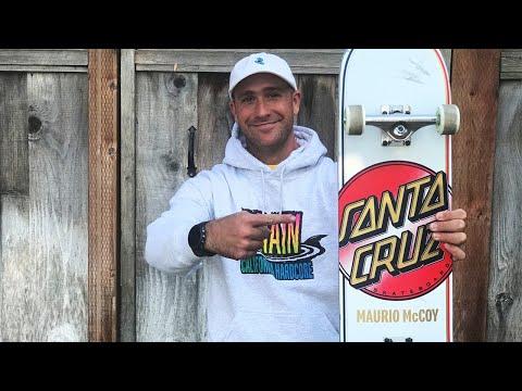 MAURIO MCCOY VX DECK CHALLENGE & SNEAK PEEK AT NEW KRUX K5 W/ ALEX WHITE | SANTA CRUZ SKATEBOARDS