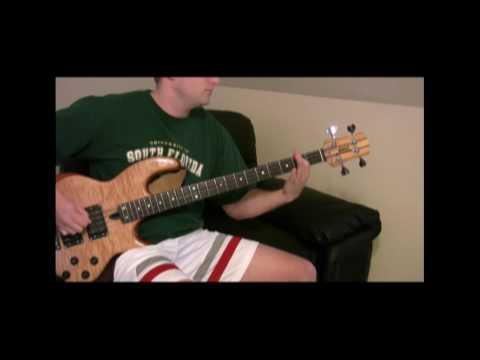 TOOL- Crawl Away Bass Cover- Hi Def
