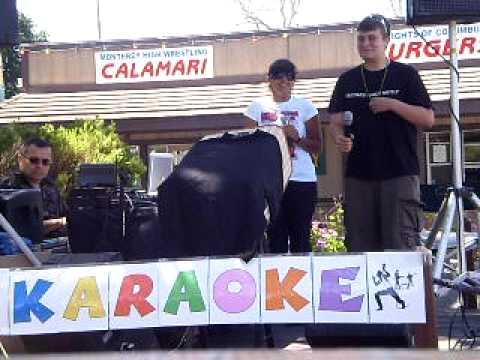 Karaoke: Ricky Martin, Monterey County Fair 2009