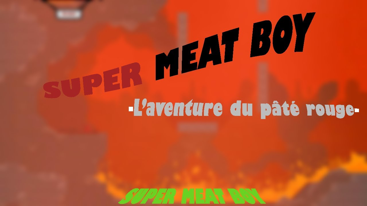 Super Meat Boy Face
