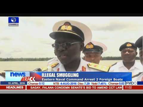 Alleged Smuggling: Nigerian Navy Arrests 2 Foreign Vessels