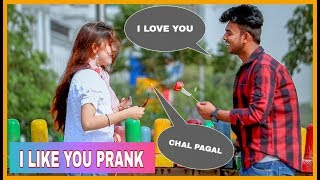 I Like You Prank On Cute Girls | AKY FILMS |