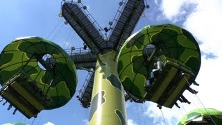 Toy Soldiers Parachute Drop - Disneyland Paris HD Complete Ridethrough Toy Story Playland