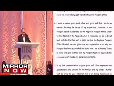 Mehul Choksi Replies To CBI, Blames Media And Political Parties