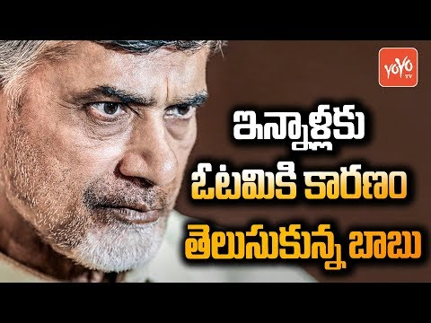 Finally Chandrababu Naidu Realise The Reasons For TDP Defeat in 2019 | #AP News | YOYO TV Channel