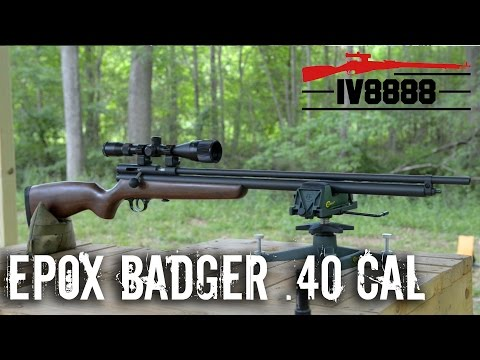 Epox Badger .40 Caliber Air Rifle Preview