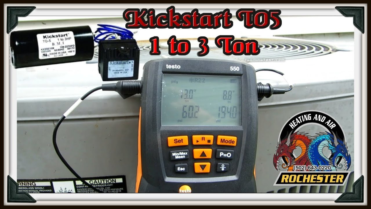 Hvac Service Call   Kickstart T05 A 1998 American Standard