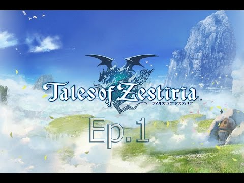 Tales of Zestiria PS4 Lets Play Walkthrough Part 1 | Tales of Zestiria Gameplay