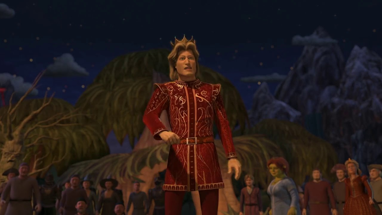 Shrek The Third - The Death Of Prince Charming 720p - YouTube