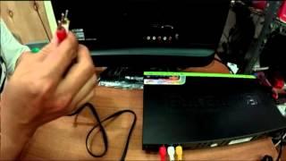 Cara menghubungkan kabel RCA dari DVD ke TV LED