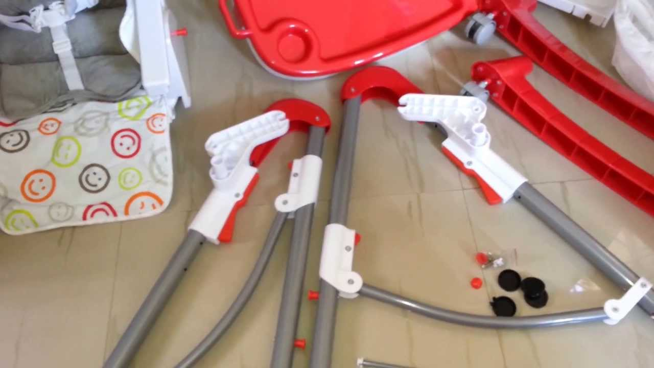 baby chair swinging model no ts bs 16 revolving repair in pune high assembling youtube
