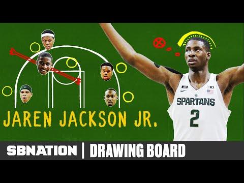 Michigan State's Jaren Jackson Jr. Is Everywhere On Defense
