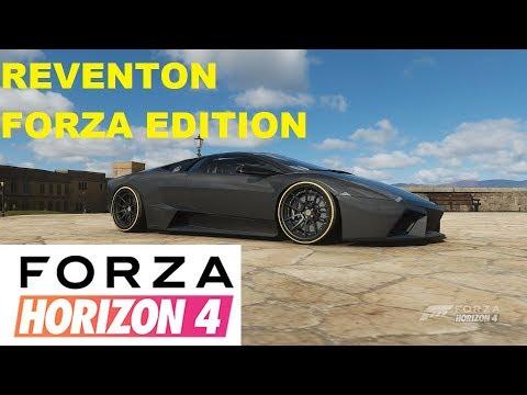 Forza Horizon 4 How To Unlock Lamborghini Reventon Forza Edition