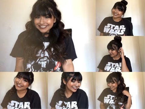 Quick & Easy Summer Hairstyles \\ Ft. Bangs