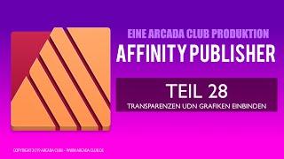 Affinity Publisher Teil 28: Transparenzen und externe Grafiken