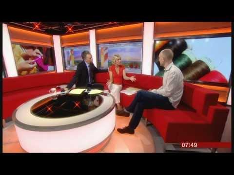 SIAN LLOYD:-: BBC Breakfast News -  06 May 2013 -  CRAFTS  INDUSTRY